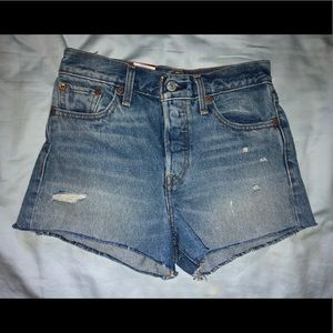 "Levi's ""wedgie fit"" shorts NWT"